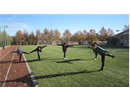 ورزش صبحگاهی پرسنل تربیت بدنی و انبار